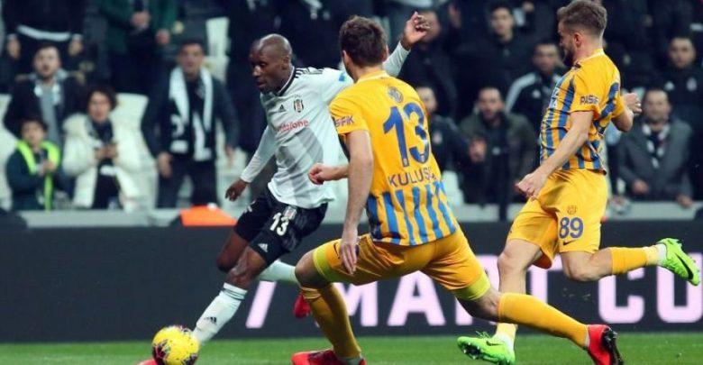 25. hafta açılış maçının galibi Beşiktaş oldu