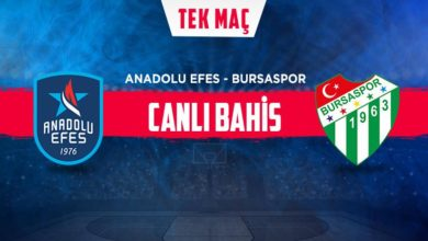 Anadolu Efes - Bursaspor maçı iddaa oranları! Heyecan misli.comda