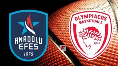 Anadolu Efes - Olympiakos maçı ne süre, hangi kanalda, saat