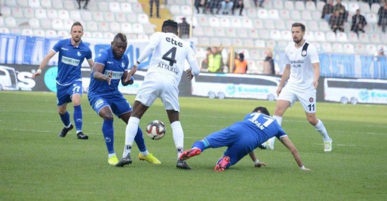 BB Erzurumspor - Fatih Karagümrük maç sonucu: 1-3