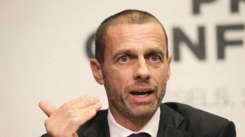 UEFA Başkanı Aleksander Ceferin: `Haziran sonunda ligler başlamazsa sezon kayıp bir sezon olur`