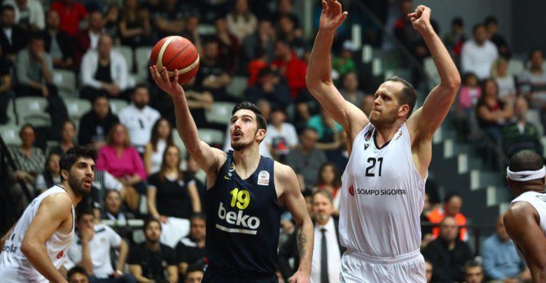 Beşiktaş Sompo Sigorta - Fenerbahçe Beko maç sonucu: 73-74