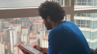 Beşiktaşlı Muhammed Elneny'den Kuran-ı Kerim paylaşımı