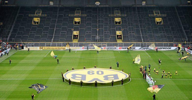Borussia Dortmund-Schalke 04 maçı seyircisiz oynanacak