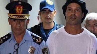 Brezilyalı efsane Ronaldinho tutuklandı!