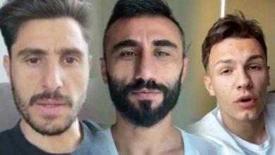Bursasporlu futbolculardan hastane personelleriyle 'Evde kal ' çağrısı