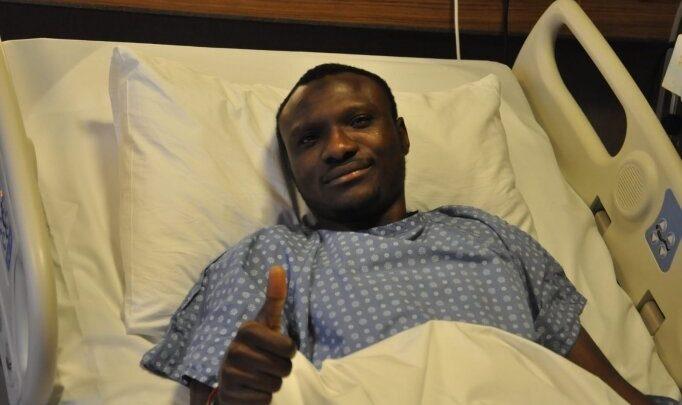 Çaykur Rizespor'da Umar sezonu kapattı