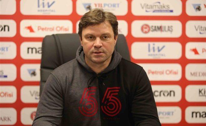 """Ertuğrul Sağlam 'dan korona yorumu: """"Bu maçı galip gelmek zorundayız"""""""