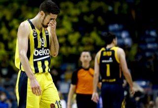 Fenerbahçe Avrupa Ligi'nde Khimki'ye yenildi