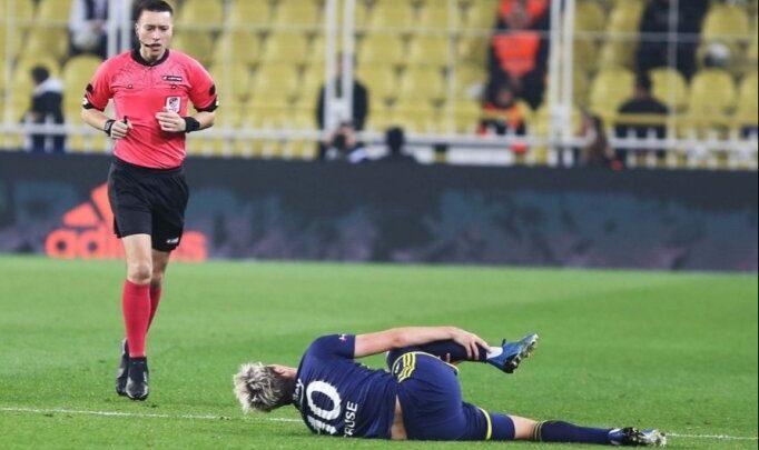 Fenerbahçe'de Max Kruse 3-4 hafta oynayamayacak!