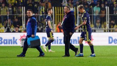 Fenerbahçe'nin yıldız futbolcusu sakatlandı
