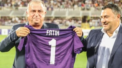 Fiorentina'dan Fatih Terim'e geçmiş olsun mesajı!