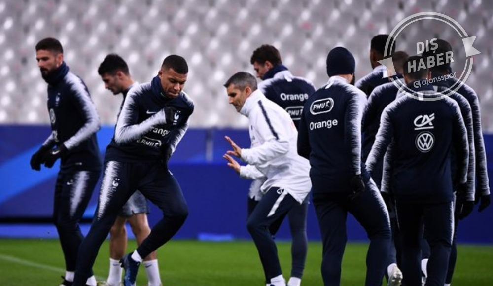 Fransa'nın maçları seyircisiz
