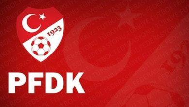 Galatasaray ve Medipol Başakşehir PFDK'da