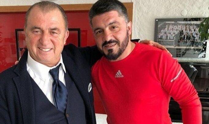 Gattuso'dan Fatih Terim'e mesaj!