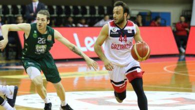 Gaziantep Basketbol-Teksüt Bandırma maç sonucu: 73-63