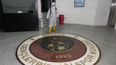 Gençlerbirliği'nin tesisleri dezenfekte edildi