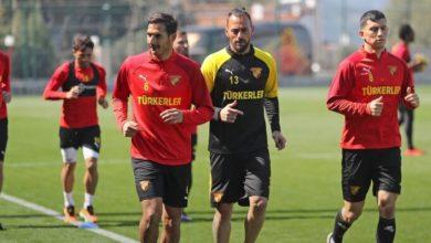 Göztepe, askıya alma maçının hazırlıklarına başladı