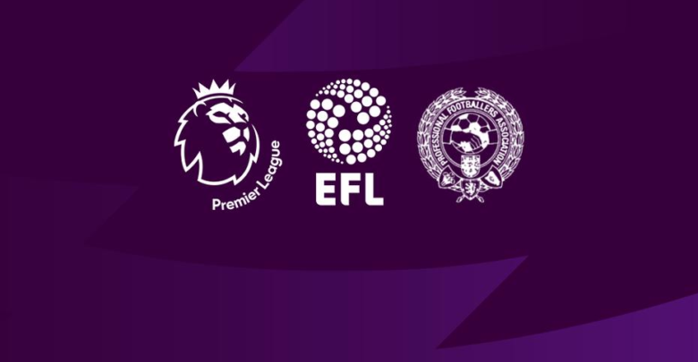 İngiltere 'de Premier League, EFL ve Profesyonel Futbolcular Birliği müşterek karar verdi! 'Ligler… '