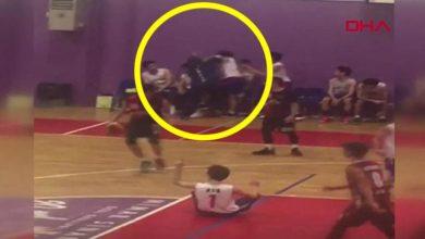 İstanbulda basketbol maçında antrenör dehşeti!