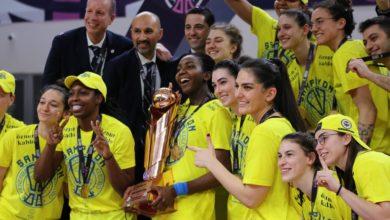 Kadınlar Türkiye Kupası Fenerbahçenin