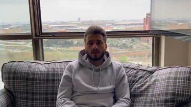 Kayserisporlu futbolcu Enver Cenk Şahin 'den 'Evde kal ' çağrısı