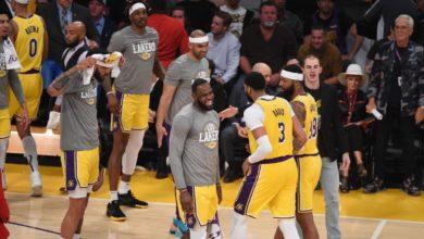 Lakersta iki oyuncunun corona virüsü testleri pozitif çıktı