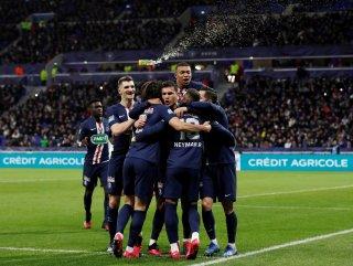 Olympique Lyon'u yenen PSG, Fransa Kupası'nda finalde