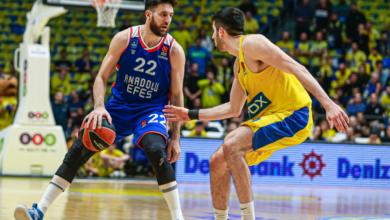 (ÖZET) Maccabi FOX - Anadolu Efes maç sonucu: 77-75