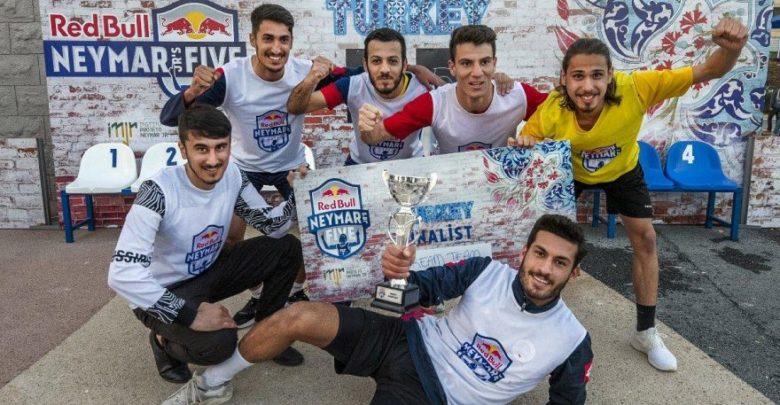 Red Bull Neymar Jr's Five Mersin şampiyonu Dream Team oldu