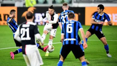 Seyircisiz maçta Juventus, Inter'i kuytu geçti