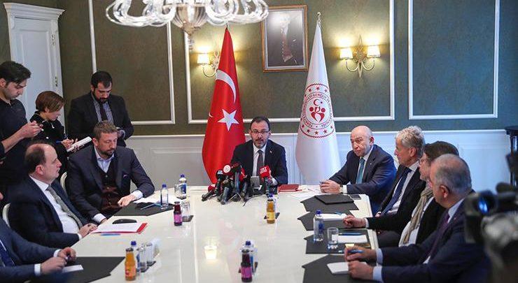 Spor Bakanı Kasapoğlu: Daha zinde olacağız