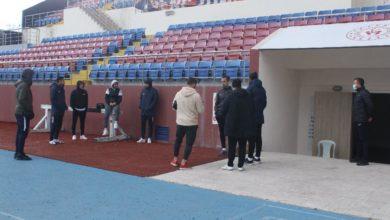Zonguldak Kömürspor corona virüs nedeniyle antrenmana çıkmadı