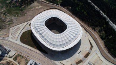 Adana 'nın yeni stadyumunda sona gelindi
