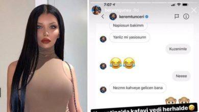 Beren Güney ve Kerem Tunçeri hakkında sosyal medya kullanıcılarının