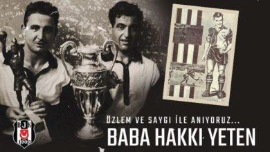 Beşiktaş, Baba Hakkı 'yı andı