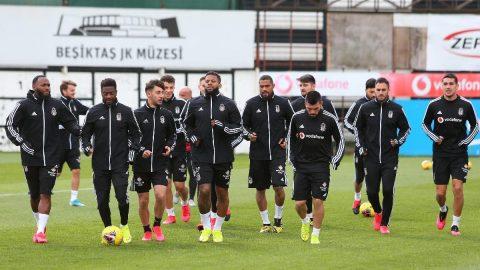Son dakika | Beşiktaş Ümraniye`de idmanlara başladı