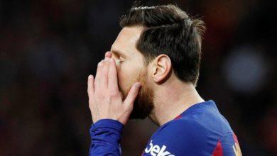Canlı yayında büyük gaf! Messi 'nin fotoğrafı yerine…