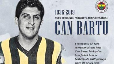 Fenerbahçe'de Can Bartu anıldı