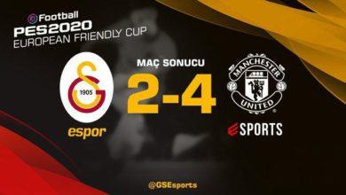 Galatasaray, Manchester Uniteda 4-2 yenildi