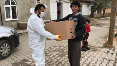Konyasporlu taraftarlardan karantinaya alınan mahallelere yardım