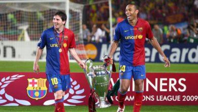Lionel Messi: 'Henry 'nin yüzüne bakamadım '