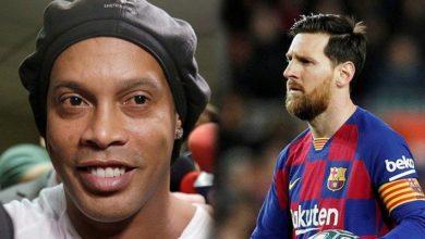 Messi 'den Ronaldinho yalanlaması