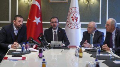 SON DAKİKA! Bakan Kasapoğlu, federasyon başkanlarıyla görüşme