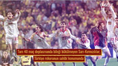 Süper Lig 'de tarihe geçen seriler