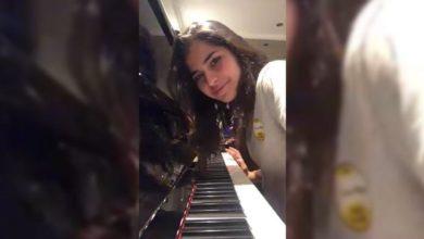Vakıfbank 'ın genç oyuncusundan piyano resitali