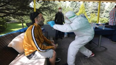 Ankaragücü 'nde corona virüsü testi yapıldı