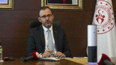 Bakan Kasapoğlu'ndan Mustafa Cengiz'e geçmiş olsun telefonu