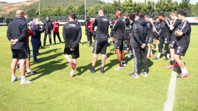 Beşiktaş Başkanı Ahmet Nur Çebi 'den futbolcularla görüşme