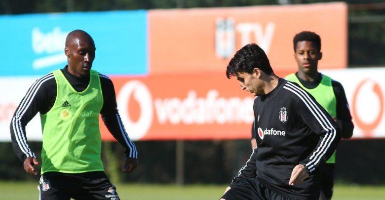 Beşiktaş günü çift idmanla tamamladı
